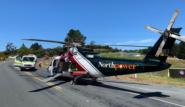 Northland rescue helicopter